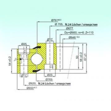ISB ZB1.25.0763.200-1SPPN thrust ball bearings