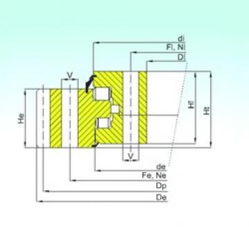 ISB ER3.40.3150.400-1SPPN thrust roller bearings