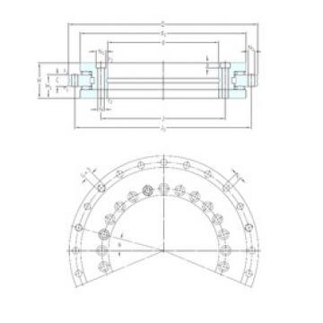 SKF NRT 325 A thrust roller bearings
