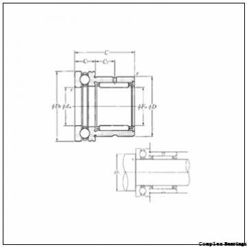 65 mm x 90 mm x 34 mm  NTN NKIA5913 complex bearings