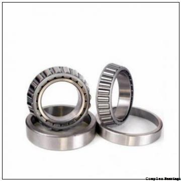 45 mm x 105 mm x 11,5 mm  NBS ZARF 45105 L TN complex bearings