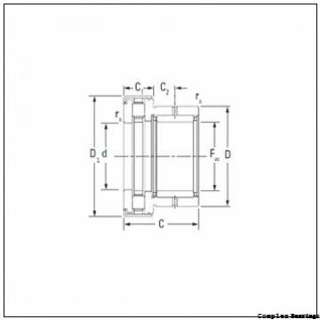 17 mm x 47 mm x 9 mm  NBS ZARN 1747 L TN complex bearings