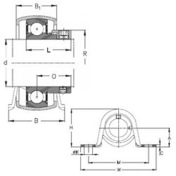 NKE PBY12 bearing units