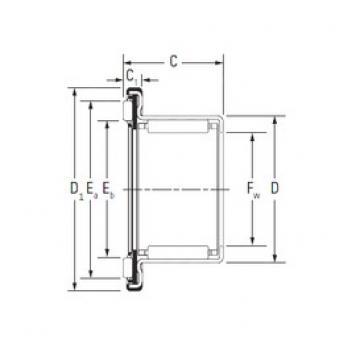 Timken RAX 740 complex bearings