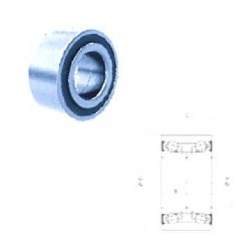 34,99 mm x 68,02 mm x 33 mm  PFI PW35680233/30CS angular contact ball bearings
