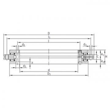 INA YRT150 complex bearings