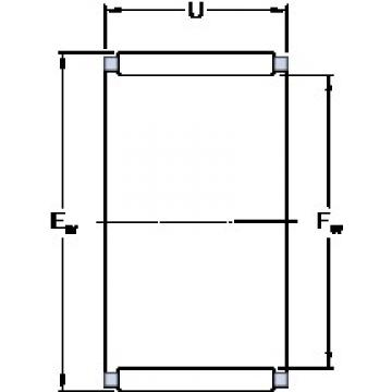SKF K 110x117x24 cylindrical roller bearings