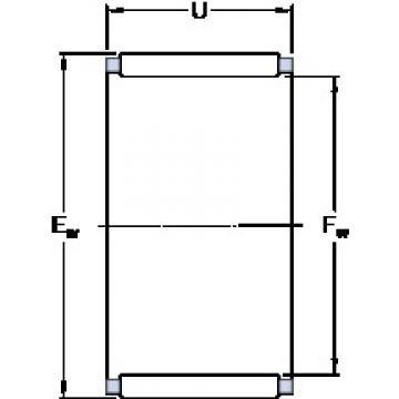 SKF K 16x22x20 cylindrical roller bearings