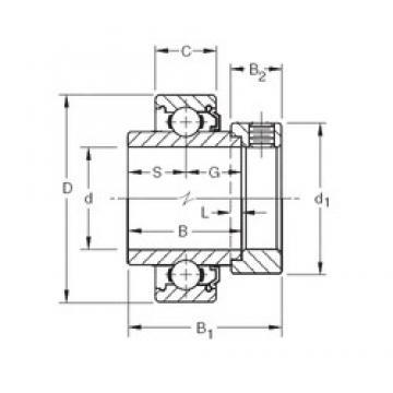 31.75 mm x 80 mm x 38,1 mm  Timken N104KLL deep groove ball bearings