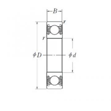 17 mm x 30 mm x 7 mm  NSK 6903DDU deep groove ball bearings