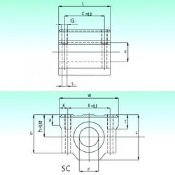 NBS SC 12-UU linear bearings