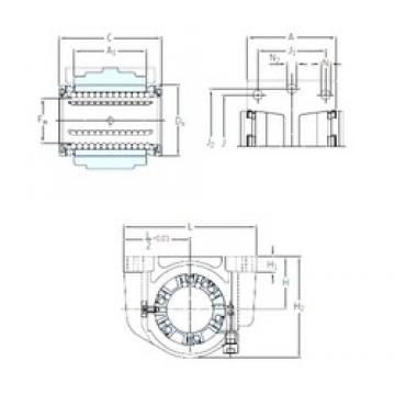 SKF LUCS 8-2LS linear bearings