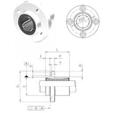 Samick LMFP50UU linear bearings