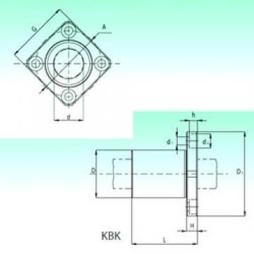 NBS KBK 12-PP linear bearings