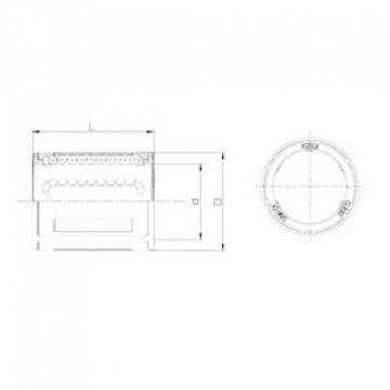 Samick CLB50UU linear bearings