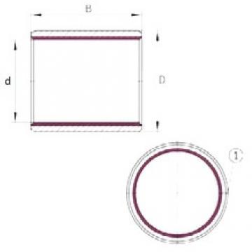 30 mm x 34 mm x 20 mm  INA EGB3020-E40 plain bearings