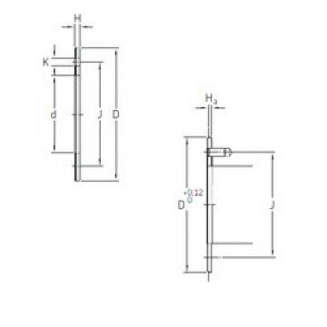 SKF PCMW 629002 E plain bearings
