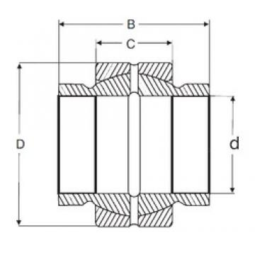 34,925 mm x 55,575 mm x 52,375 mm  SIGMA GEZM 106 ES plain bearings