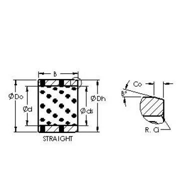 AST AST650 607435 plain bearings