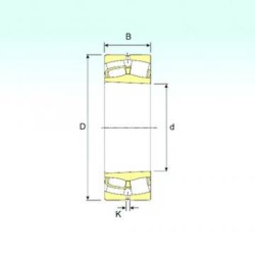 360 mm x 650 mm x 232 mm  ISB 23272 K spherical roller bearings
