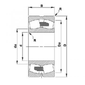 850 mm x 1220 mm x 365 mm  Timken 240/850YMD spherical roller bearings