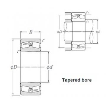 85 mm x 150 mm x 36 mm  NTN LH-22217BK spherical roller bearings