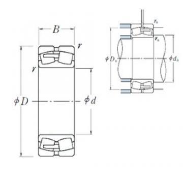 710 mm x 1280 mm x 450 mm  NSK 232/710CAE4 spherical roller bearings