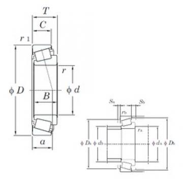 48 mm x 90 mm x 23 mm  KOYO HC ST4890 tapered roller bearings