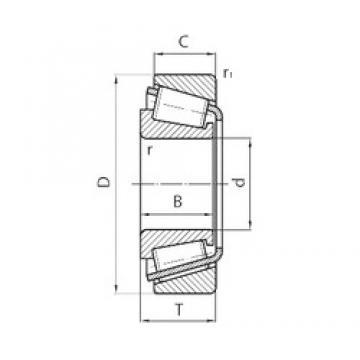 PFI P28KW02 tapered roller bearings