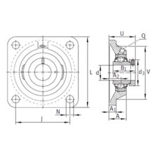 INA RCJ25-N-FA125 bearing units #3 image