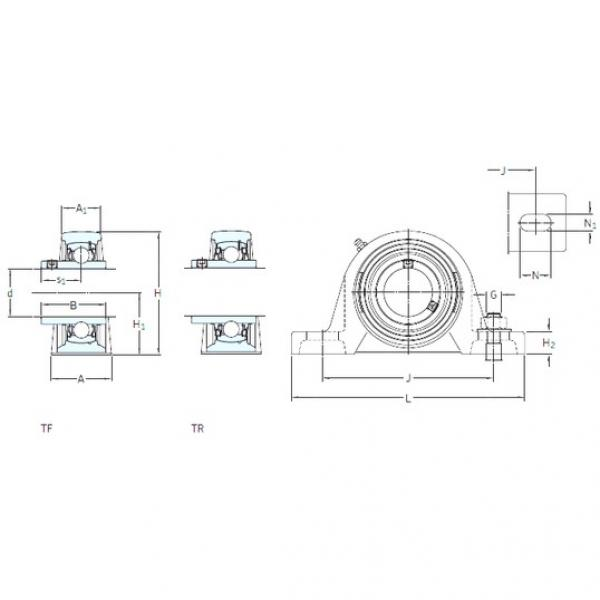 SKF SY 25 TF bearing units #3 image