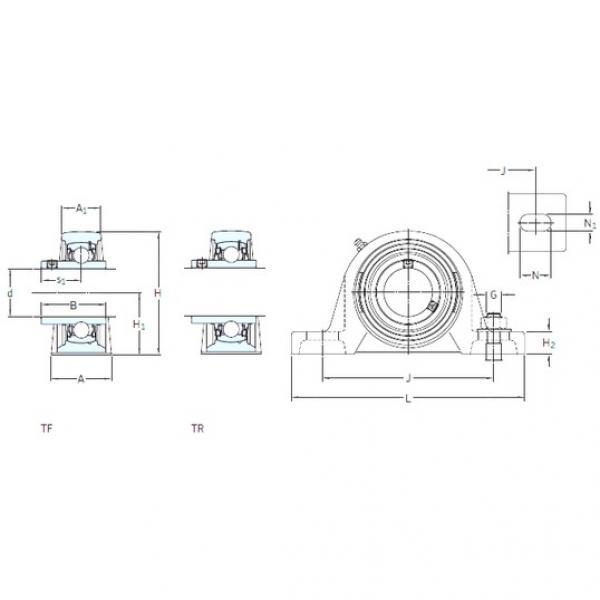 SKF SY 55 FM bearing units #3 image