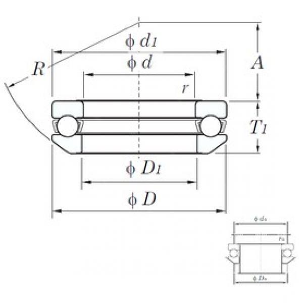 KOYO 53218 thrust ball bearings #1 image
