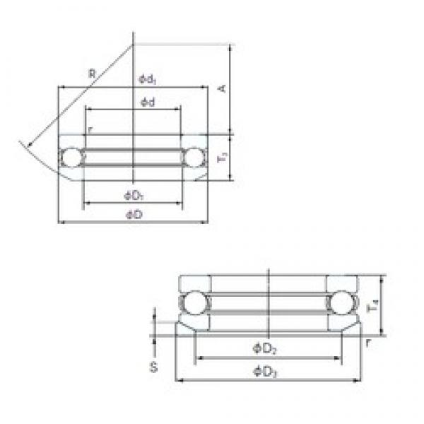 NACHI 53424U thrust ball bearings #1 image