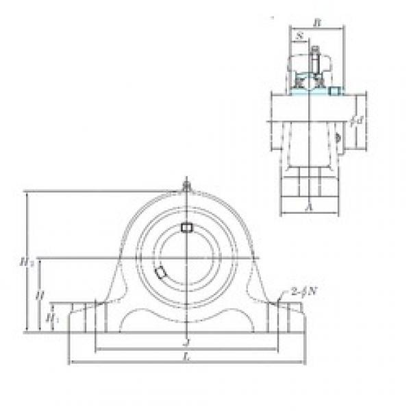 KOYO UCIP320-64 bearing units #3 image