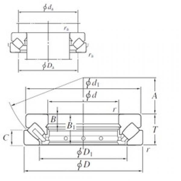200 mm x 340 mm x 29 mm  KOYO 29340 thrust roller bearings #3 image