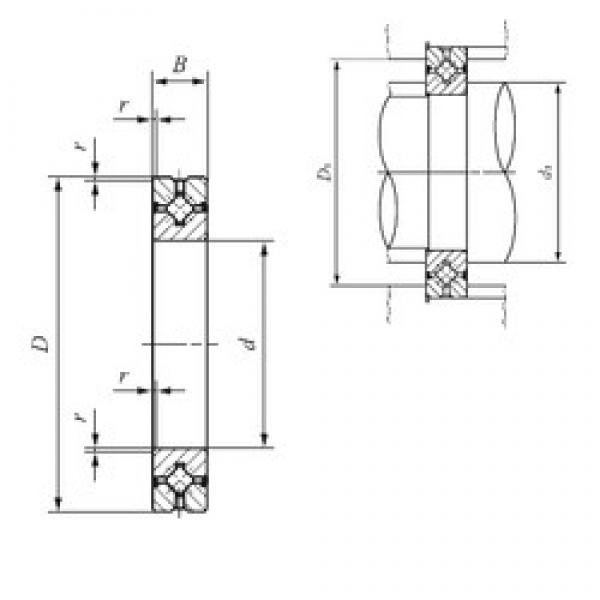 35 mm x 60 mm x 10 mm  IKO CRBH 3510 A UU thrust roller bearings #3 image