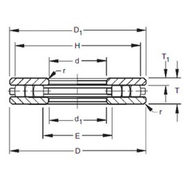 Timken 90TP139 thrust roller bearings #3 image