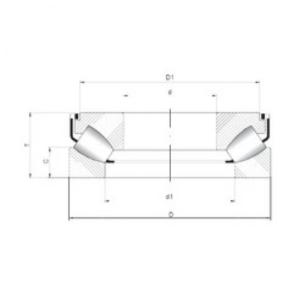 ISO 29468 M thrust roller bearings #3 image
