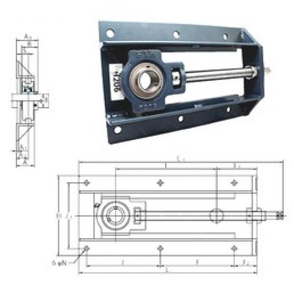 FYH UCTH213-40-300 bearing units #3 image