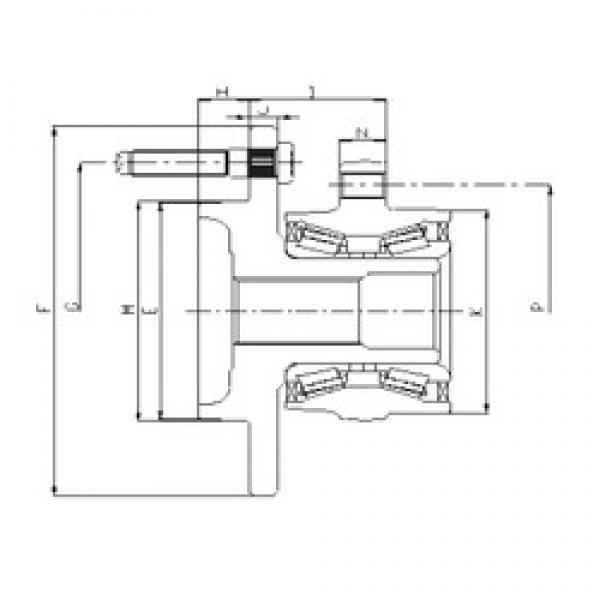 ILJIN IJ223001 angular contact ball bearings #3 image