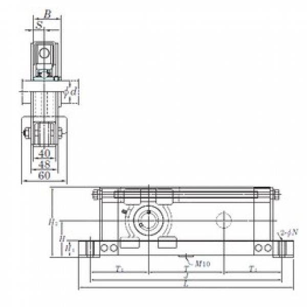 KOYO UCTL209-400 bearing units #3 image