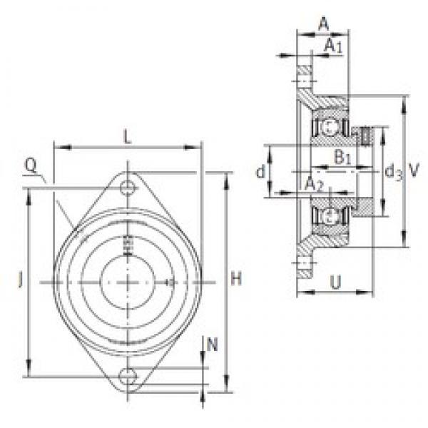 INA PCJT12 bearing units #3 image