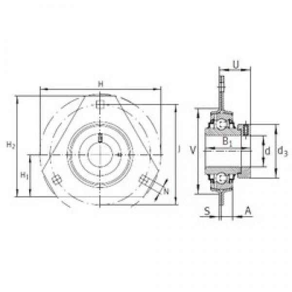 INA RRTR30 bearing units #3 image