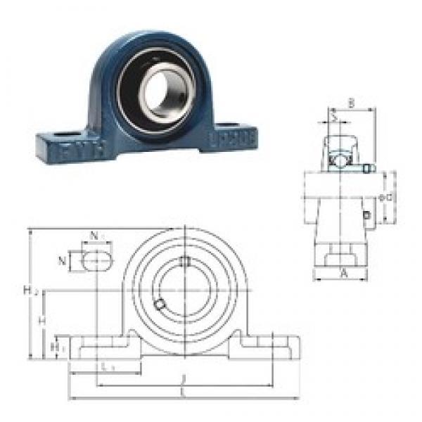 FYH BLP202-10 bearing units #3 image