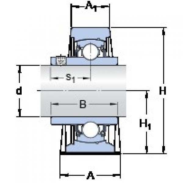 SKF SY 1.15/16 TF/VA201 bearing units #3 image