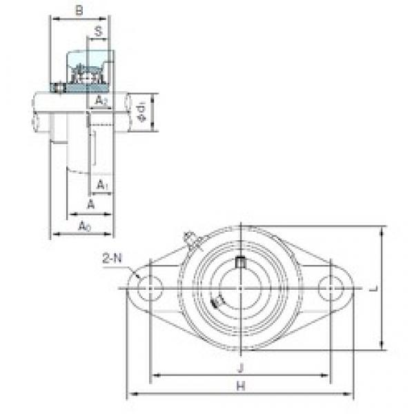 NACHI UCFL317 bearing units #3 image