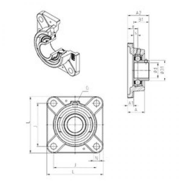 SNR USFE206 bearing units #3 image