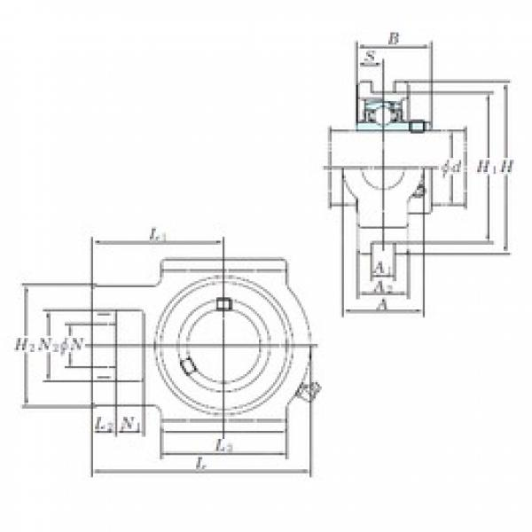 KOYO UCT209-28 bearing units #3 image