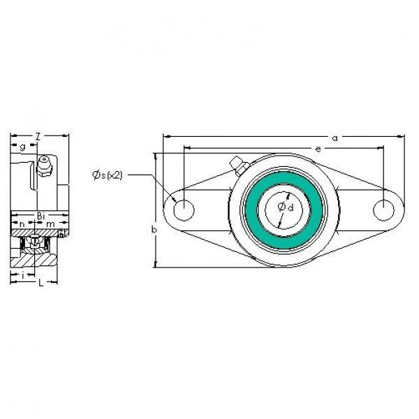 AST UCFL 208-24 bearing units #3 image